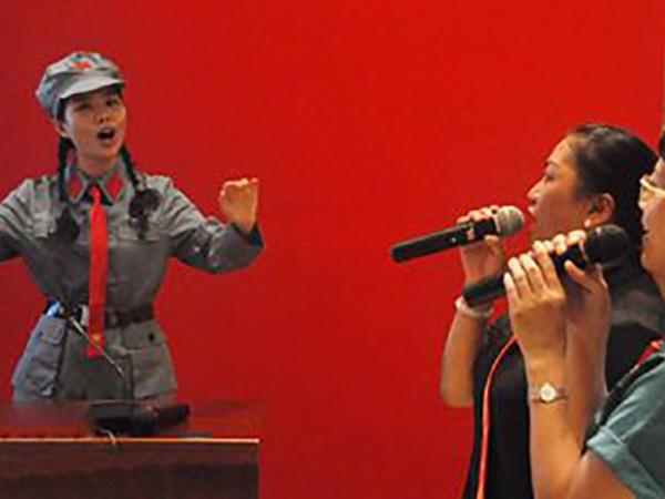 【激情教学】在歌声中体会井冈山精神