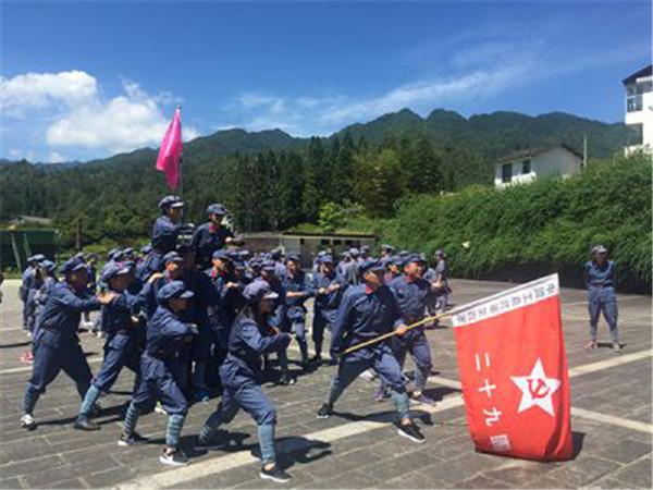 【红军拓展训练】注重革命传统精神的教育与体验
