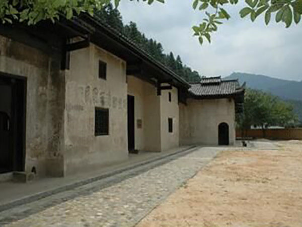 教学点·行州红军标语群旧址